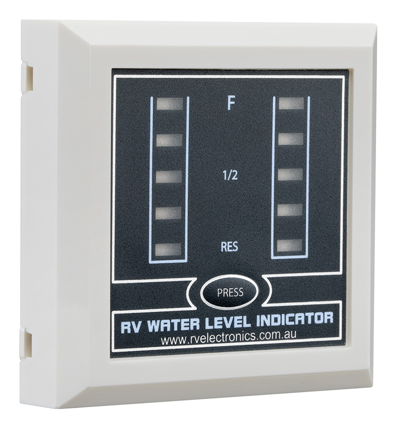LED White Double Tank Water Level Indicator