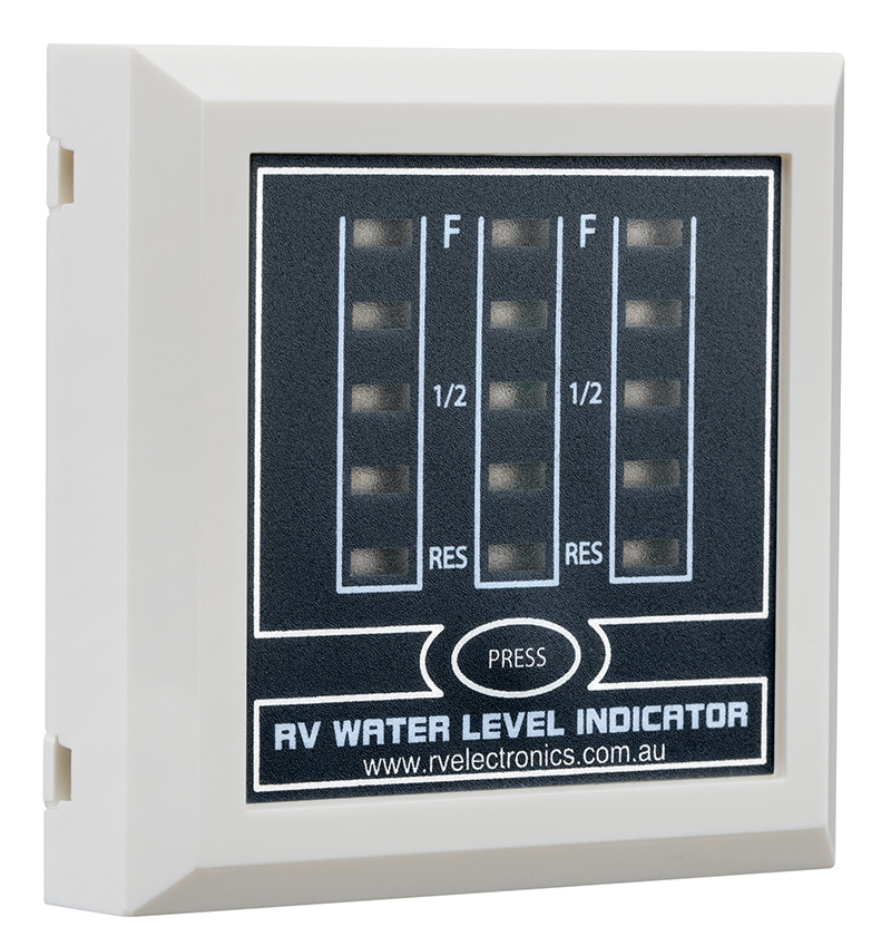 LED White Triple Tank Water Level Indicator